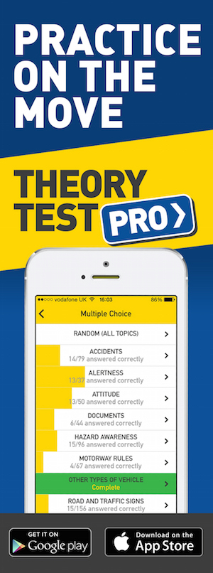 Theory Test Pro in partnership with U Can Drive 2